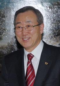 2006: Ban Ki Moon elected as Secretary-General of the United Nations