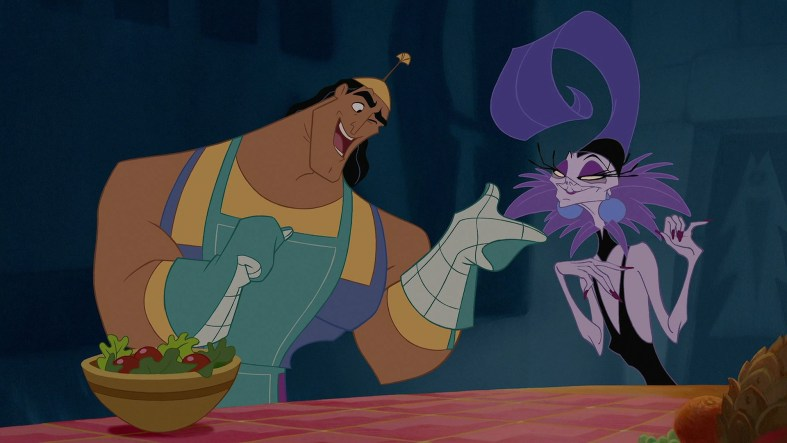 kronk and yzma dinner party